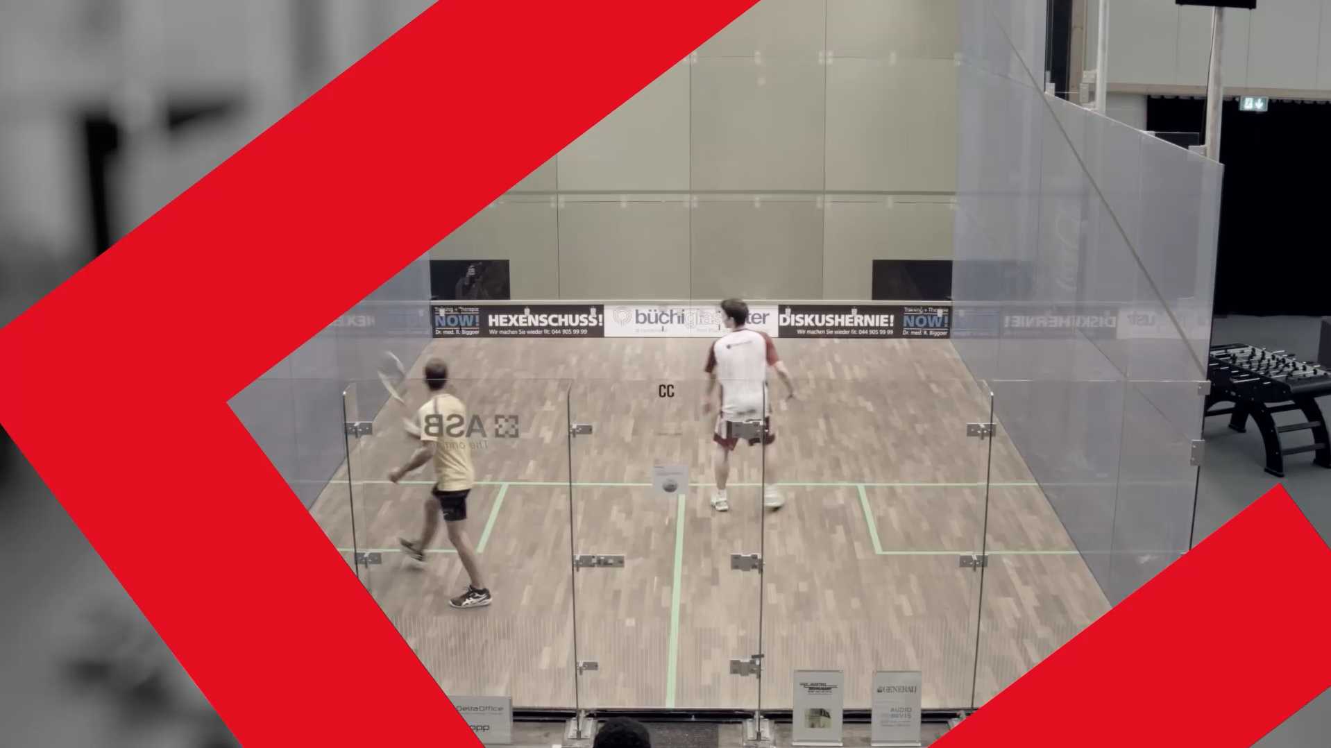 Squash Courts by Courtcare